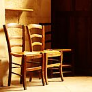 ....the waiting chairs.... by Andy Duffus