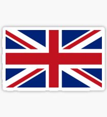 Union Jack, Flag of the United Kingdom, Britain, British flag, Pure and Simple Sticker