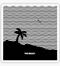 The Beach  Sticker