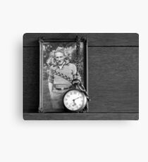 My Dad and his Father's Watch Canvas Print