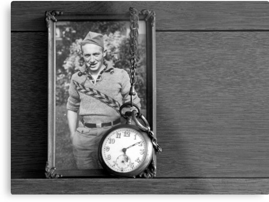 My Dad and his Father's Watch by Hans Bax