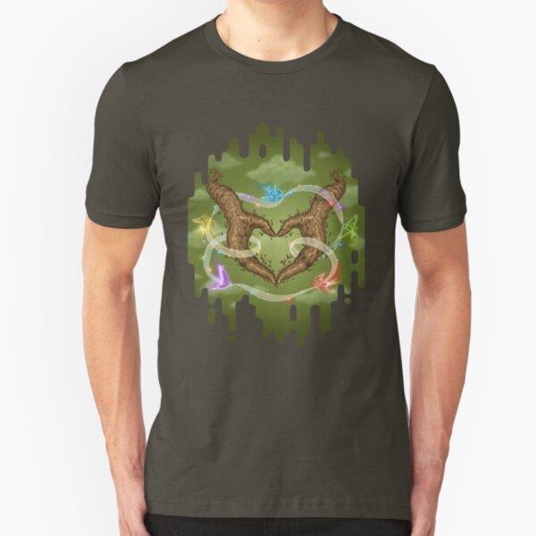Hand Heart Slim Fit T-Shirt