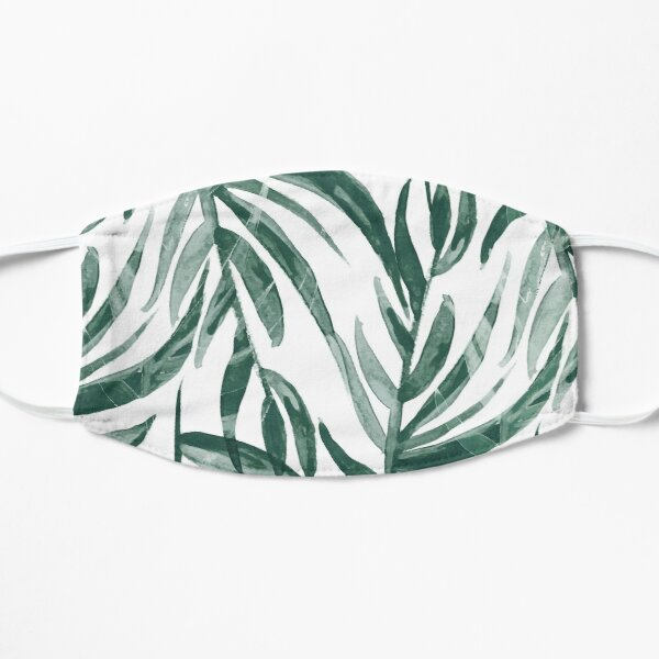 Illustration plante verte Masque taille M/L
