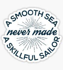 A Smooth Sea Sticker