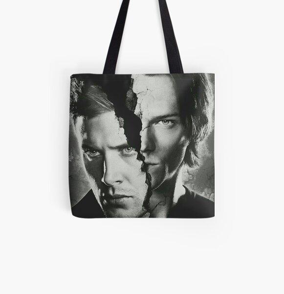 Supernatural Tote Bag Sam Girl 16x16