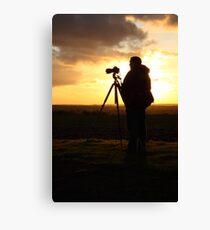 500D Shoots 5D Mark III Canvas Print