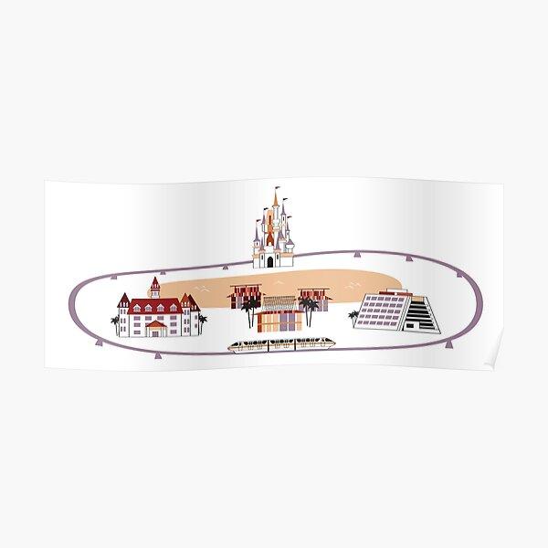 Monorail Loop Poster