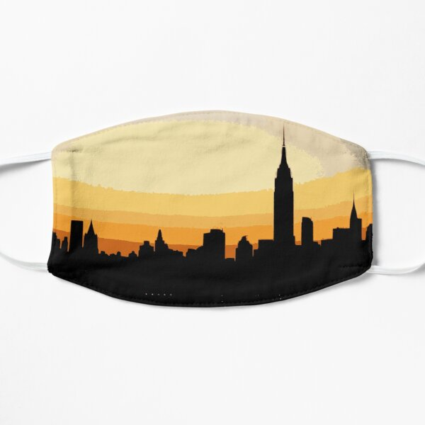 NYC silhouette  Mask