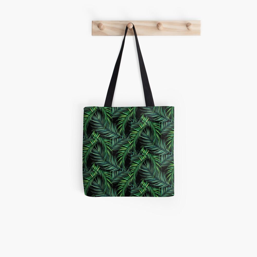 Dark Floral Lust Tote Bag