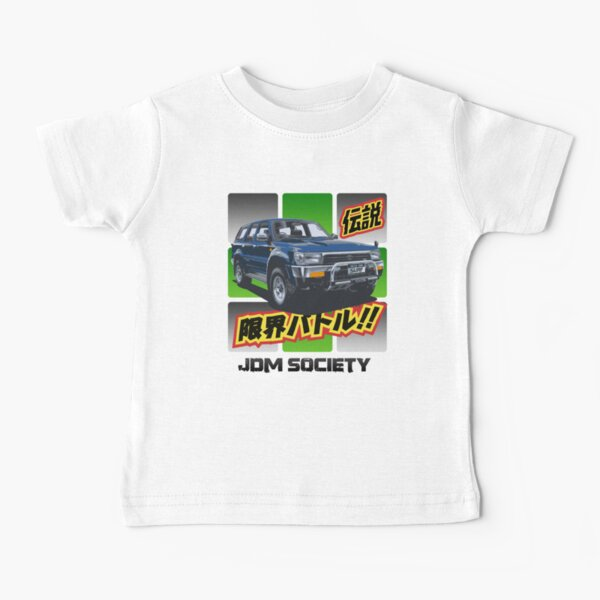 Toyota Hilux 4Runner Surf Wide Baby T-Shirt