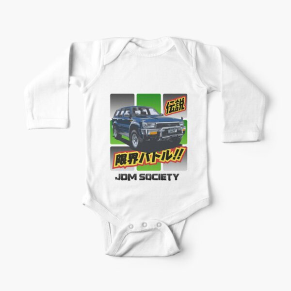 Toyota Hilux 4Runner Surf Wide Long Sleeve Baby One-Piece