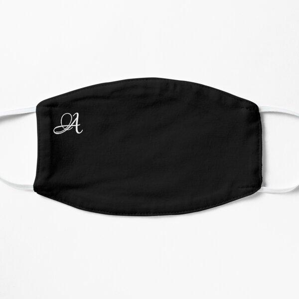 Letter A Alphabet Minimalist Art Mask