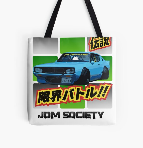 Kenmary Works Skyline All Over Print Tote Bag