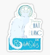 Le Chat Blanc Sticker