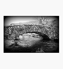 Lakeland Packhorse Bridge Photographic Print