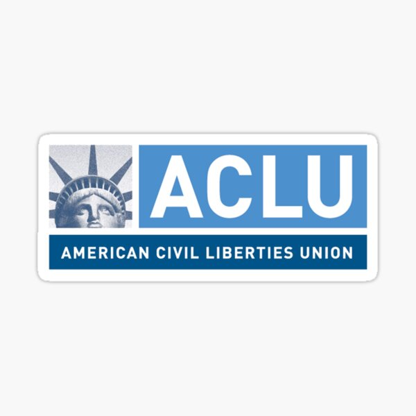 ACLU Logo Sticker