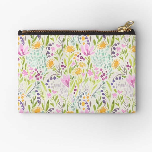 Tiny flowers Zipper Pouch