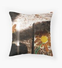 SPRING 20 - TOOLS HELP PLANT'S TO GROW - SHARE KNOWLEDGE - GROW FOOD Throw Pillow