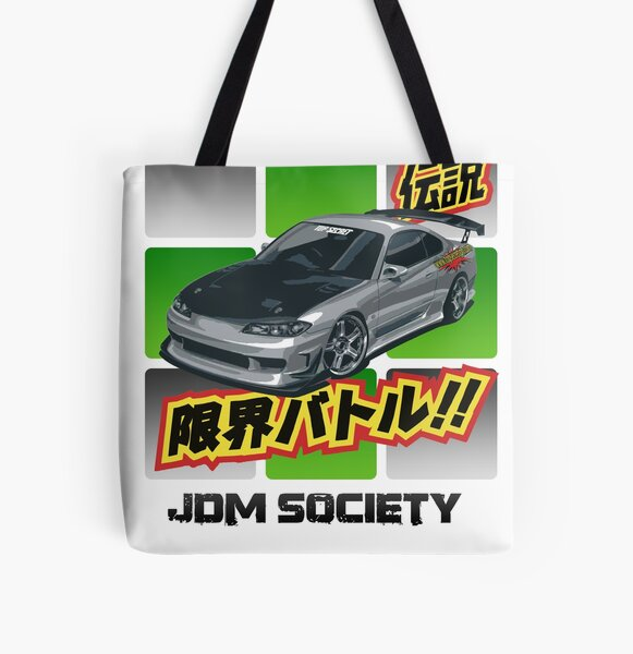 Top Secret Silvia S15 All Over Print Tote Bag