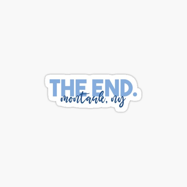The End. Sticker
