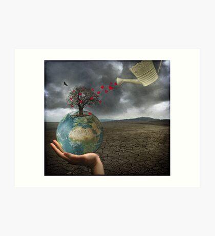 Celebrate earth day...everyday! Kunstdruck