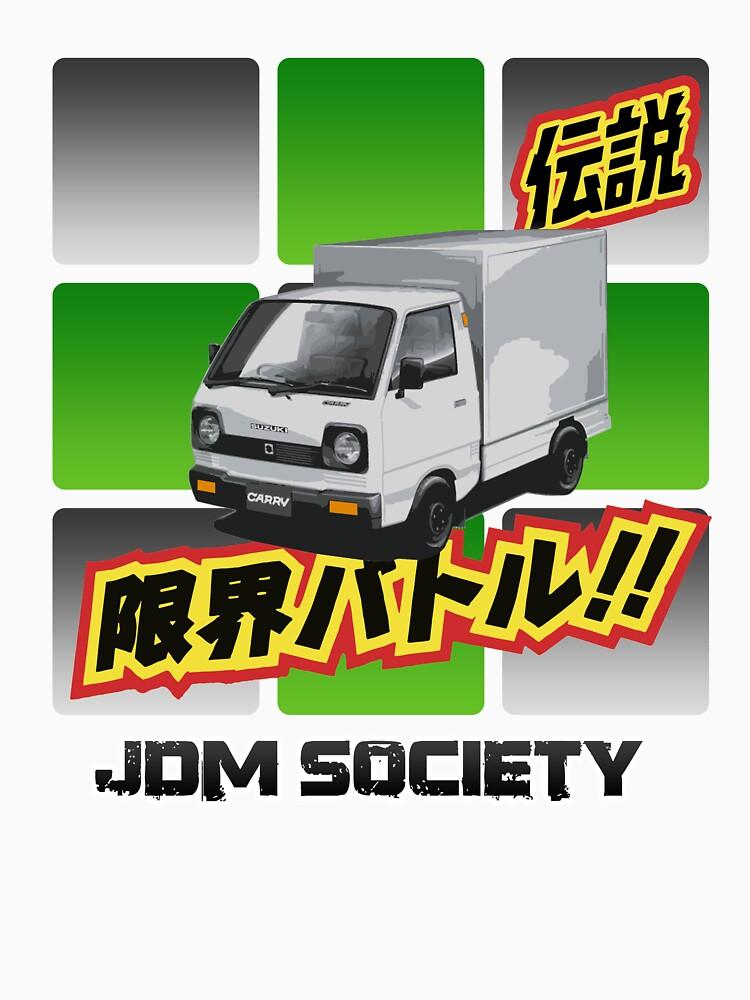 Suzuki Carry ST30 by carsaddiction