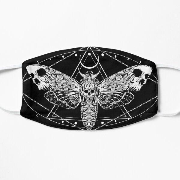 Surreal Death Moth Flat Mask