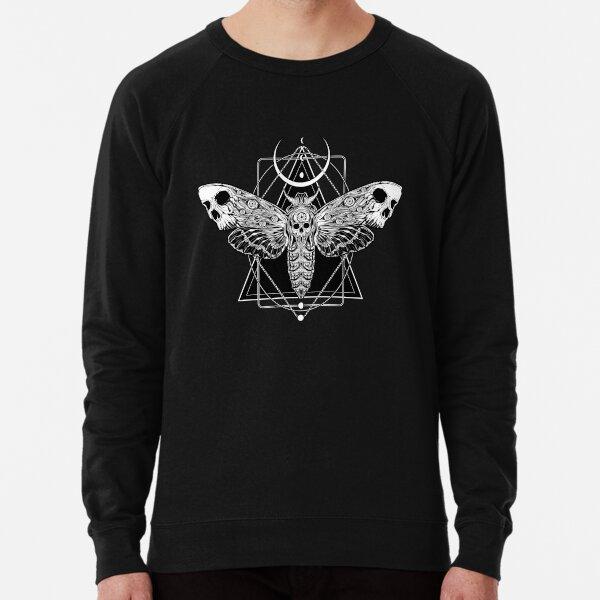 Surreal Death Moth Lightweight Sweatshirt