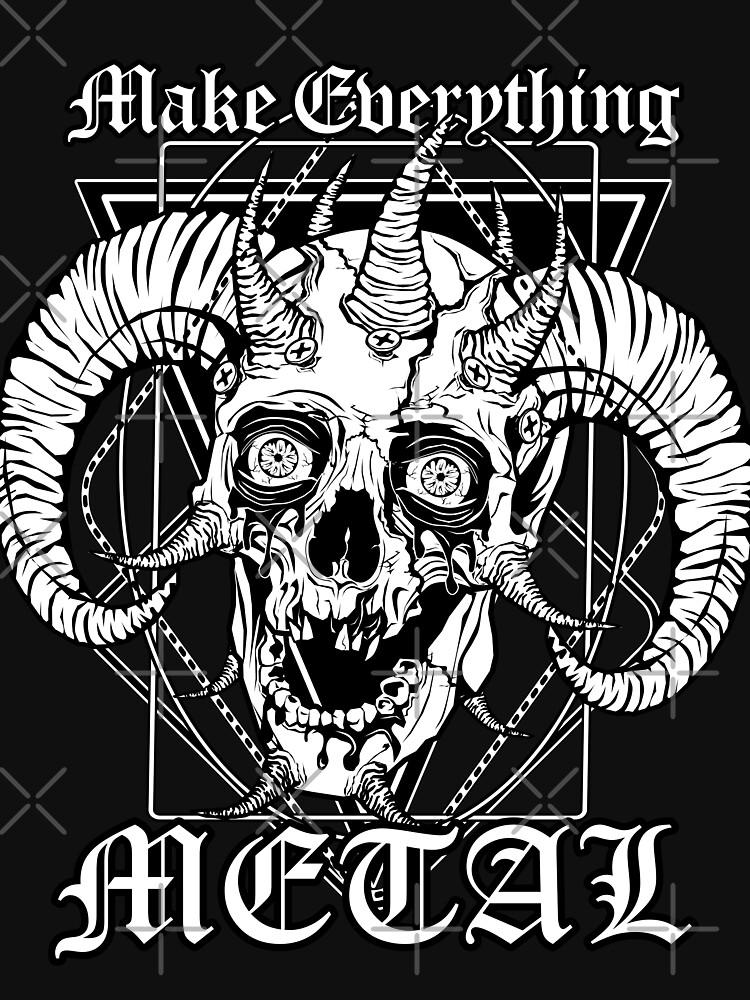 FACEBONES: Make Everything Metal by VonKowen