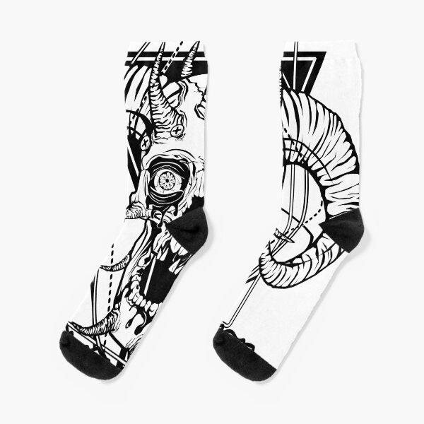 FACEBONES: Make Everything Metal Socks