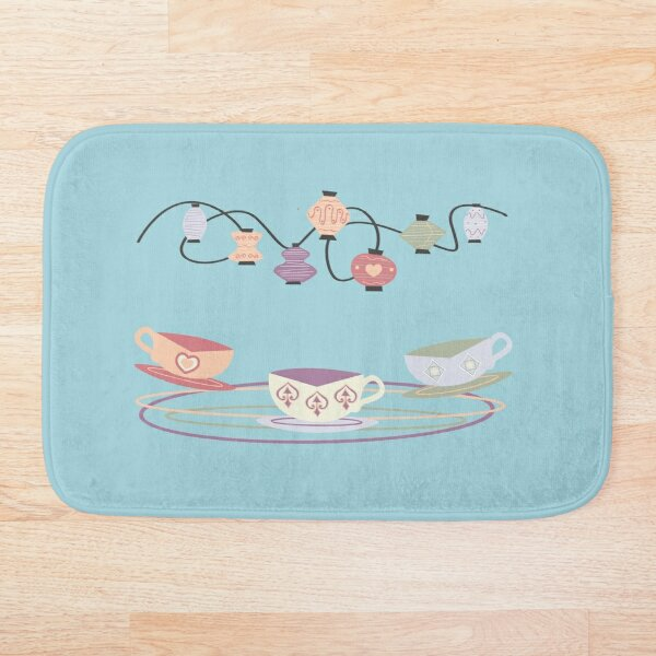 Mad Tea Cups  Bath Mat