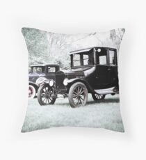 Horseless Carriage Throw Pillow