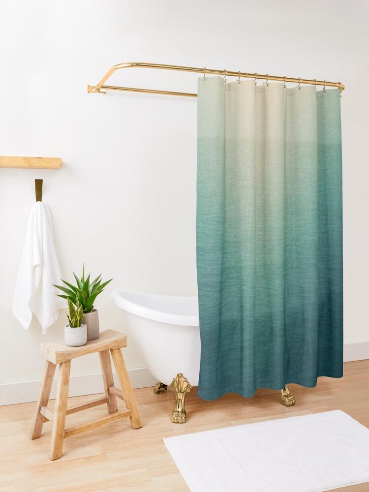 Alternate view of VIVID II Shower Curtain