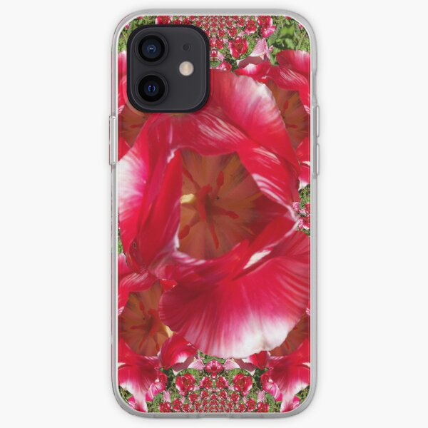 Red tulips I phone 4 iPhone Soft Case