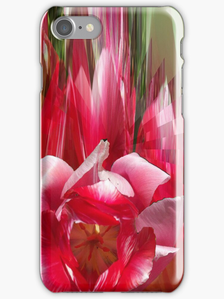 Tulips composition i phone 4 by Margherita Bientinesi
