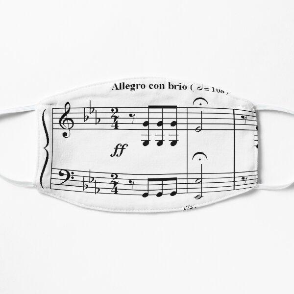 5e symphonie de Beethoven Masque sans plis