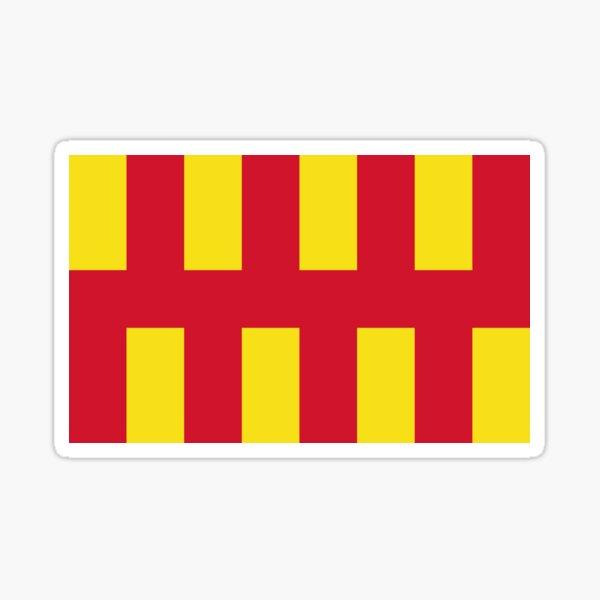 Northumberland flag Sticker