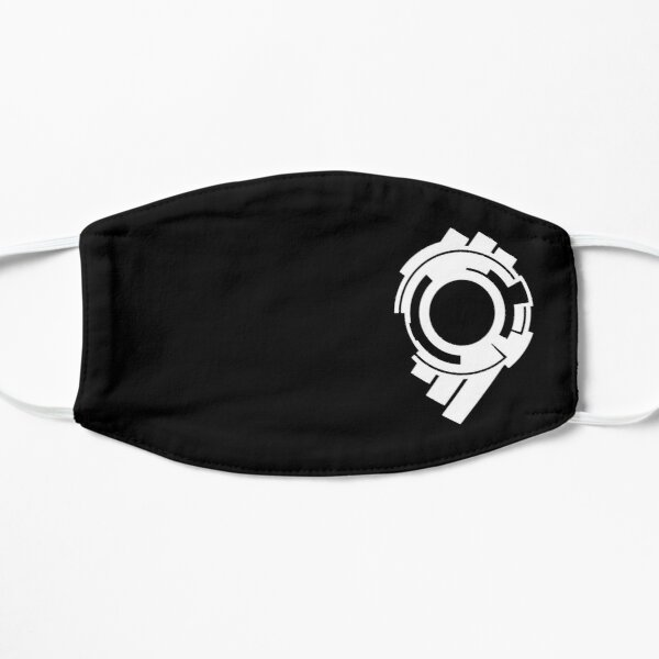 Ghost in the Shell - Public Security Section 9 Logo (White Logo) Mask