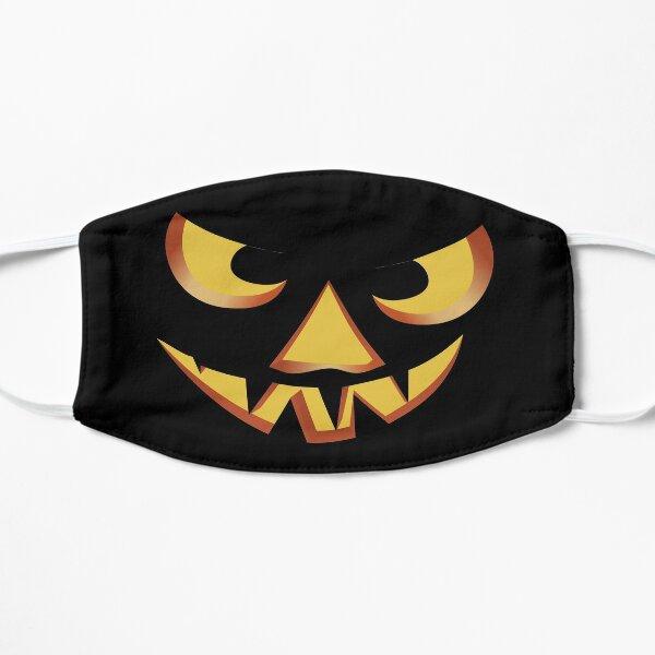 Pumpkin face for Halloween 3 Flat Mask