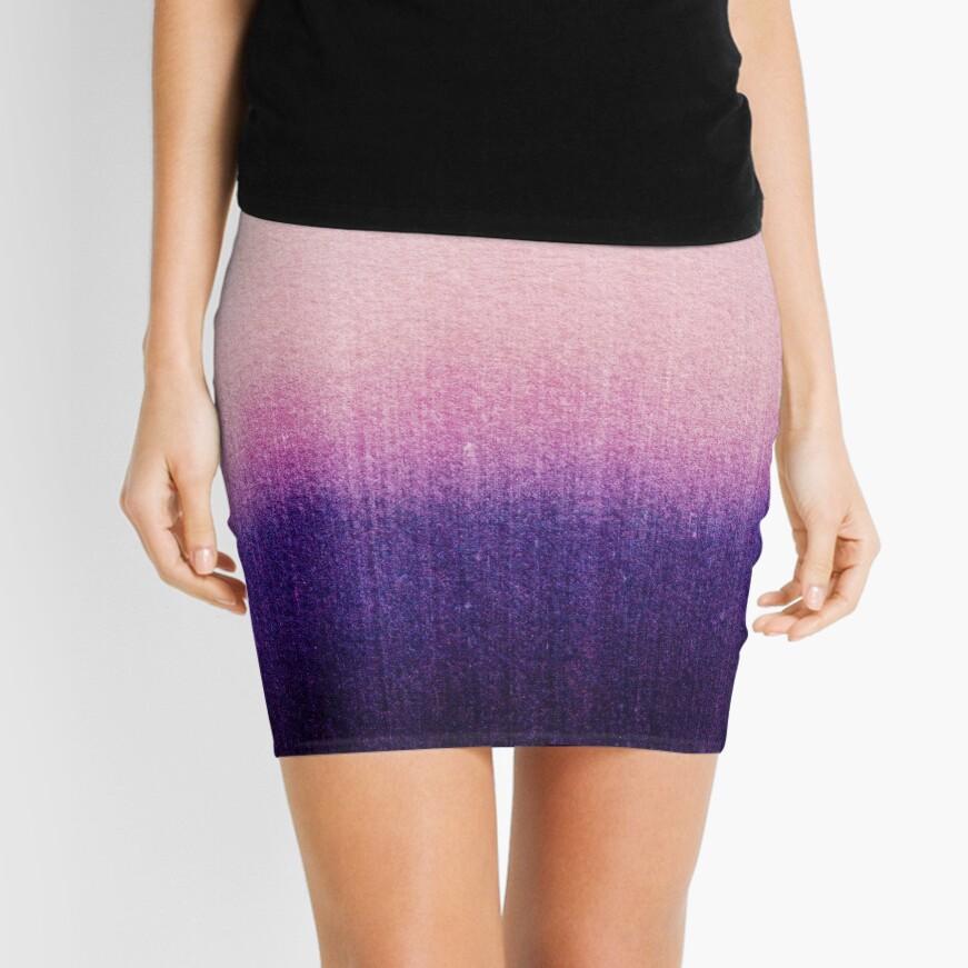 BLUR / Abyss Mini Skirt