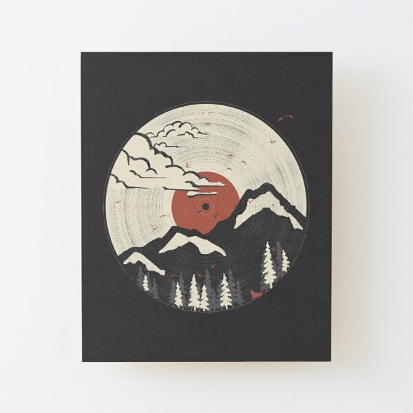 MTN LP... Wood Mounted Print