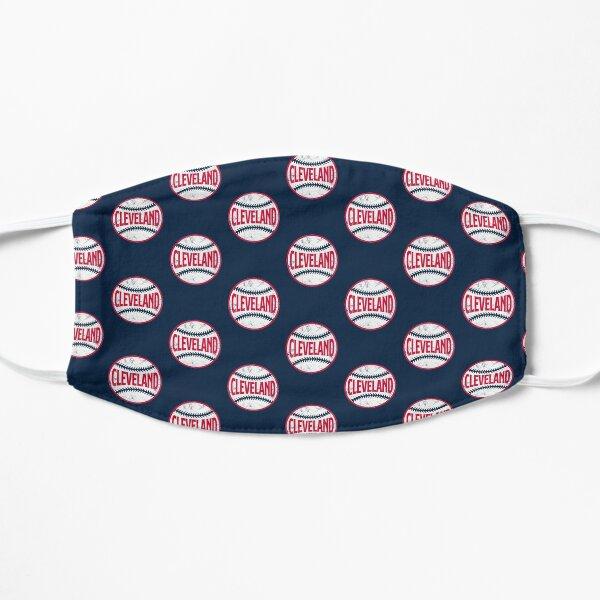 Cleveland Retro Baseball - Navy Flat Mask