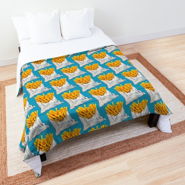 French Fries Pattern Comforter