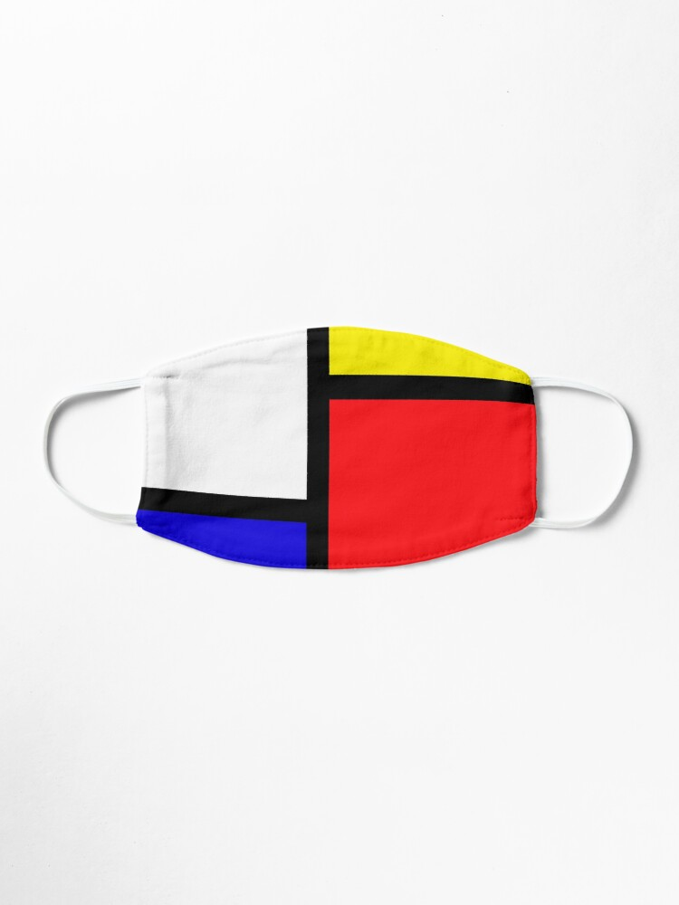 Alternate view of Mondrian Mask