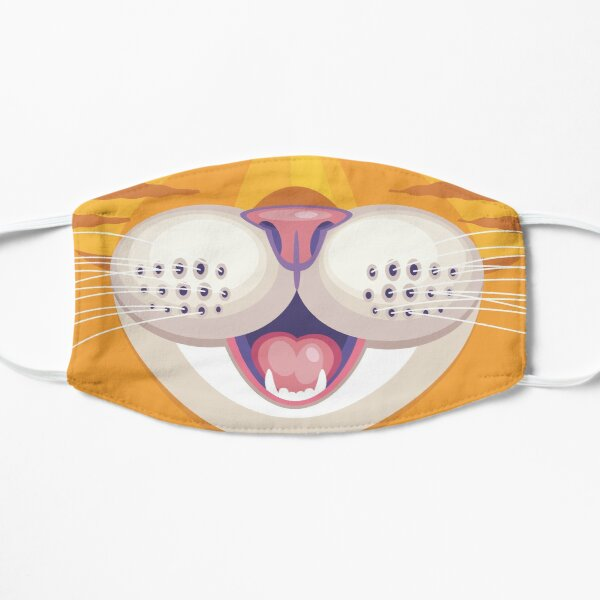 The Cat's Whiskers Flat Mask