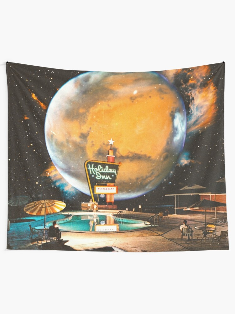 Alternate view of The Holiday Inn Space Tapestry