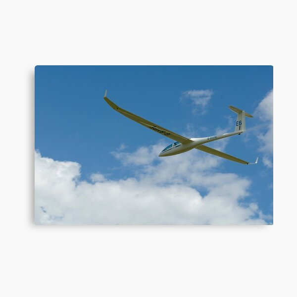 Glider racing. Canvas Print