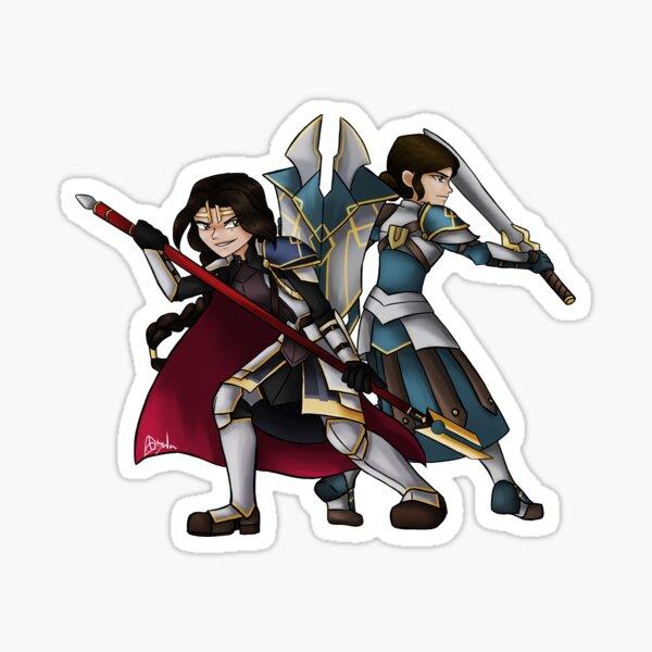 Sisters in Battle Sticker
