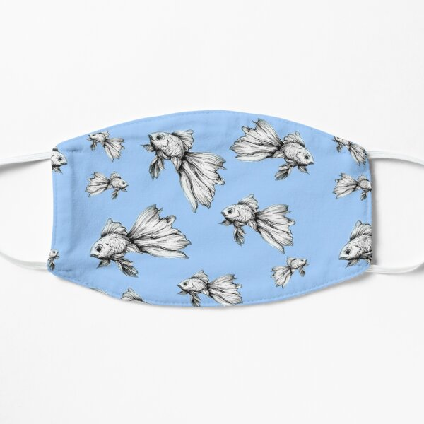 Beta in Blue Flat Mask