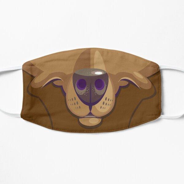 Smile Like A Chocolate Labrador Flat Mask